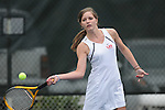 Oxford High vs. Lafayette High in tennis action in Oxford, Miss. on Tuesday, March 29, 2011.