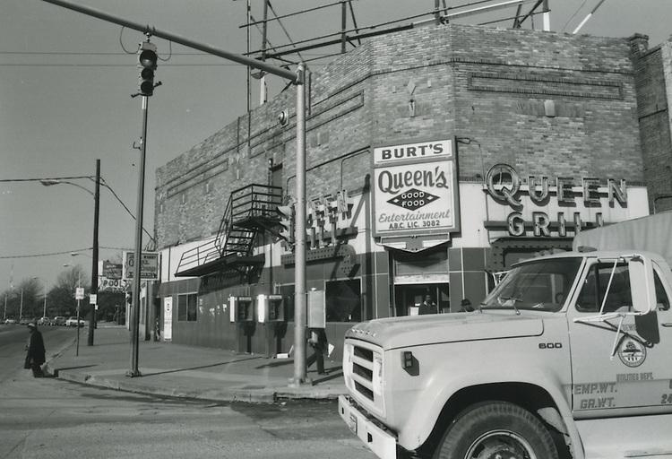 UNDATED  1980?..Church Street ?.Queen Grill..NEG#.NRHA#..