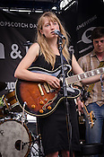 The Weather Station played Megafaun's Martin Street day party during the Hopscotch Music Festival in Raleigh, North Carolina. September 8, 2012.