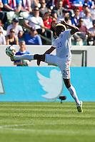 Carson, CA - Sunday, February 8, 2015 Gyasi Zardes (20) of the USMNT. The USMNT defeated Panama 2-0 during an international friendly at the StubHub Center.
