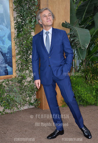 LOS ANGELES, CA. June 27, 2016: Actor Christoph Waltz at the world premiere of &quot;The Legend of Tarzan&quot; at the Dolby Theatre, Hollywood.<br /> Picture: Paul Smith / Featureflash