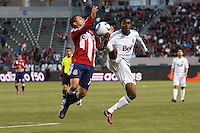 CD Chivas USA and Vancouver Whitecaps played to a 1-1 draw at Home Depot Center stadium in Carson, California on June 1, 2011....