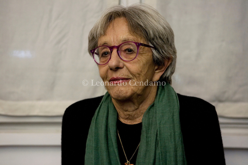 Milan, Italy, December the 13rd, 2009. Laura Lepetit, who founded \'La Tartaruga\', the most important literary editions in feminine and feminism. © Leonardo Cendamo