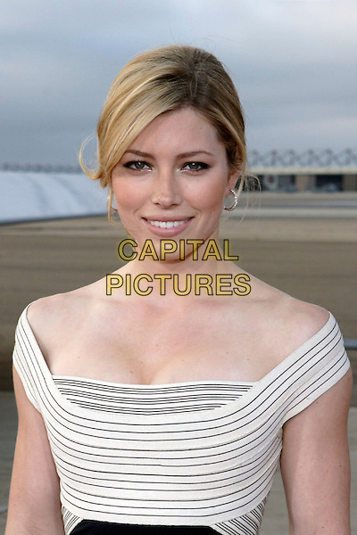 """JESSICA BIEL.World Film Premiere of Columbia Pictures' """"Stealth"""" .held at the Naval Air Station North Island (NASNI), Coronado, California, USA,17 July 2005..portrait headshot.Ref: ADM.www.capitalpictures.com.sales@capitalpictures.com.©Zach Lipp /AdMedia/Capital Pictures."""