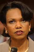 Washington, DC - April 8, 2004 -- Doctor Condoleezza Rice, National Security Advisor, testifies before the 9/11 Commission in Washington, D.C. on April 8, 2004.<br /> Credit: Ron Sachs / CNP<br /> [RESTRICTION: No New York Metro or other Newspapers within a 75 mile radius of New York City]