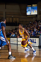 SAN ANTONIO, TX - NOVEMBER 25, 2008: The Texas A&M University-Kingsville Javelinas vs. the St. Mary's University Rattlers Men's Basketball at Bill Greehey Arena. (Photo by Jeff Huehn)
