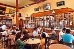 Lima, Peru, Bar Cordano, Old World Dining Hall From 1905