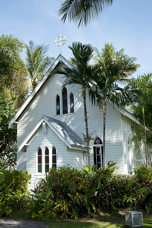 The historic St Mary's by the Sea church.  Port Douglas, Queensland, Australia