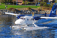 Seaplane, floatplane, taxiing, take-off, Harbour Airport, Victoria, British Columbia, Canada, 200809071054, ID 609, C-FGQE.<br />