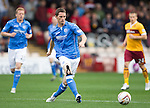 Motherwell v St Johnstone...30.08.14  SPFL<br /> Gary McDonald<br /> Picture by Graeme Hart.<br /> Copyright Perthshire Picture Agency<br /> Tel: 01738 623350  Mobile: 07990 594431