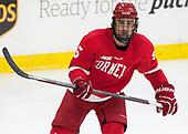 Matt Nuttle (Cornell - 5) - The Harvard University Crimson defeated the visiting Cornell University Big Red on Saturday, November 5, 2016, at the Bright-Landry Hockey Center in Boston, Massachusetts.