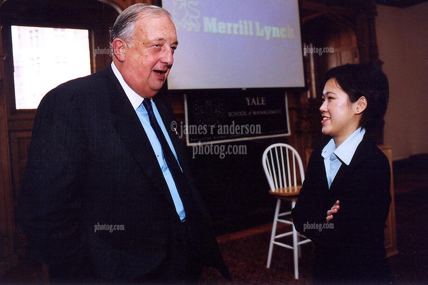 David Komansky Chairman & CEO, Merrill Lynch speaking at Yale University, School of Managment Leaders Forum 28 November 2001