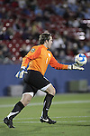 12 December 2008: Brooks Haggerty (1) of North Carolina.  The Wake Forest University Demon Deacons were defeated by the University of North Carolina Tar Heels 0-1 at Pizza Hut Park in Frisco, TX in an NCAA Division I Men's College Cup semifinal game.