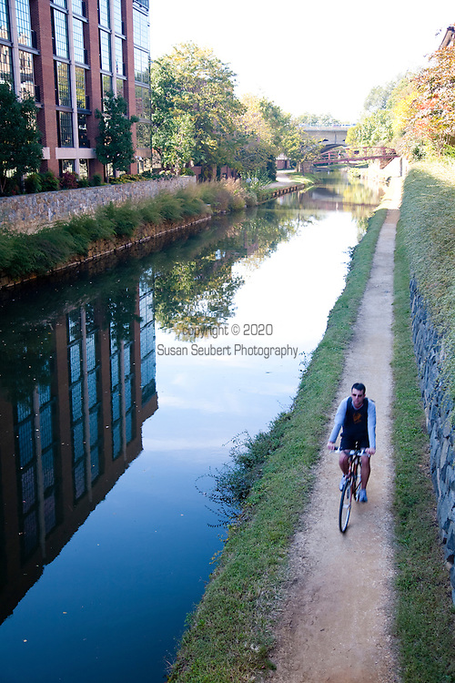 The Chesapeake and Ohio (C&O) Canal is one of the most intact and impressive survivals of the American canal-building era. The C&O Canal is unique in that it remains virtually unbroken and without substantial modification affecting its original character for its entire length of 185 miles. Today the park is a popular getaway for Washington residents. The towpath is popular with bikers and joggers.