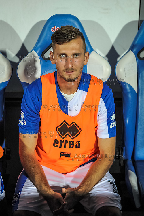 Gyomber Norbert  (PESCARA) during the Italian Cup - TIM CUP -match between Pescara vs Frosinone, on August 13, 2016. Photo: Adamo Di Loreto/BuenaVista*photo