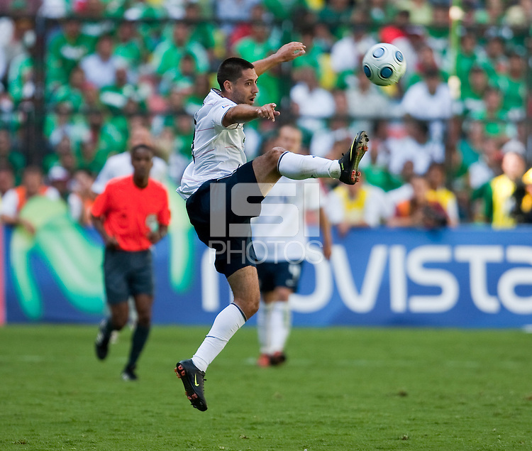 Clint Dempsey. USA Men's National Team loses to Mexico 2-1, August 12, 2009 at Estadio Azteca, Mexico City, Mexico. .   .