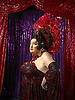 Portrait of burlesque Ruby<br />