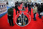 General view of the international motorcycle show in New York, United States. 18/12/2013. Photo by Kena Betancur/VIEWpress.