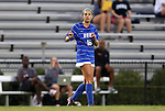 20 September 2012: Duke's Laura Weinberg. The University of Maryland Terrapins played the Duke University Blue Devils to a 2-2 tie after overtime at Koskinen Stadium in Durham, North Carolina in a 2012 NCAA Division I Women's Soccer game.