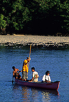 Palau Culture,Boys Fishing