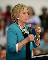 OCT 02 Hillary Rodham Clinton Speaks At Broward College