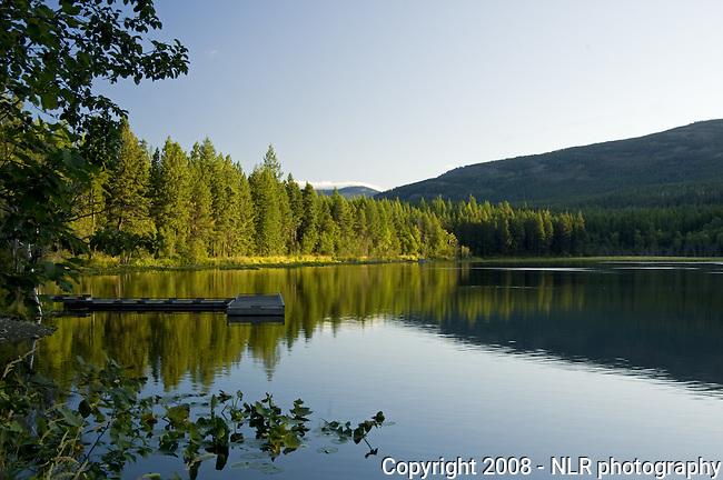 Brush Lake in northern Idaho