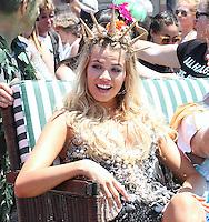 JUN 18 Hailey Clauson at the Mermaid Parade in NYC