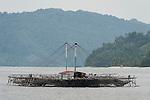 Triton Bay, West Papua, Indonesia; fishing platform or bagan