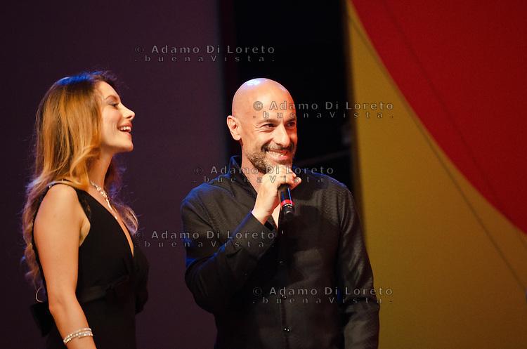 PESCARA (PE) 08/07/2012 - 39° FILM FESTIVAL INTERNAZIONALE FLAIANO. PREMIAZIONE FINALE. IN FOTO BERTALLOT. FOTO DI LORETO ADAMO