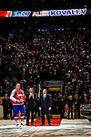 25 January 2009: Eastern Conference All-Star, from the Montreal Canadiens right wing forward Alexei Kovalev wins the game MVP award after defeating the Western Conference All-Stars at the 2009 NHL All-Star Game at the Bell Centre in Montreal, Quebec, Canada. The Eastern Conference edged out the Western Conference 12-11 in a shootout. ***** Editorial Sales Only ***** Mandatory Photo Credit: Ed Wolfstein Photo