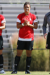 04 October 2009: Maryland's Amy O'Sullivan. The University of Maryland Terrapins defeated the Duke University Blue Devils 4-0 at Koskinen Stadium in Durham, North Carolina in an NCAA Division I Women's college soccer game.