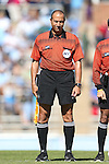 20 October 2013: Assistant Referee Saeed Mohamed. The University of North Carolina Tar Heels hosted the University of Virginia Cavaliers at Fetzer Field in Chapel Hill, NC in a 2013 NCAA Division I Women's Soccer match. Virginia won the game 2-0.