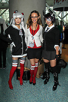 Jessica Kinni and cosplayers<br /> at Anime Expo 2014 Day 2, Los Angeles Convention Center, Los Angeles, CA 07-04-14<br /> David Edwards/DailyCeleb.com 818-249-4998