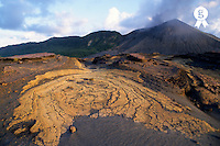 Crusts and ashes around Mount Yasur volcano (Licence this image exclusively with Getty: http://www.gettyimages.com/detail/95489981 )