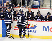 Damon Kipp (UNH - 4), Blake Kessel (UNH - 20), Matt Campanale (UNH - 24), Dick Umile (UNH - Head Coach), ?, ? - The visiting University of New Hampshire Wildcats defeated the University of Massachusetts-Lowell River Hawks 3-0 on Thursday, December 2, 2010, at Tsongas Arena in Lowell, Massachusetts.
