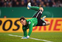FUSSBALL   DFB POKAL    SAISON 2012/2013    ACHTELFINALE FC Schalke 04 - FSV Mainz 05                          18.12.2012 Christian Wetklo (FSV Mainz 05)