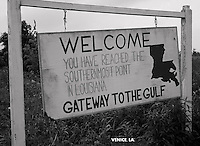 Venice, La.sign,welcome