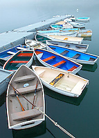 Colorful Skiffs
