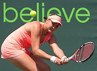 Nadia PETROVA (RUS) against Kimiko DATE KRUMM (JPN) in the second round of the women's singles. Petrova beat Date Krumm 6-3 7-6..International Tennis - 2010 ATP World Tour - Sony Ericsson Open - Crandon Park Tennis Center - Key Biscayne - Miami - Florida - USA - Thurs  25 Mar 2010..© Frey - Amn Images, Level 1, Barry House, 20-22 Worple Road, London, SW19 4DH, UK .Tel - +44 20 8947 0100.Fax -+44 20 8947 0117