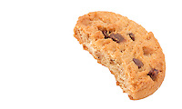 Cookie Biscuit with Bite Out - Jul 2014.