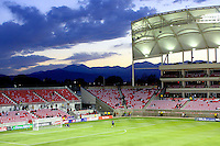 Rio Tinto Stadium before the New York Red Bulls @ Real Salt Lake 1-1 draw at Rio Tinto Stadium in Sandy, Utah on October 9, 2008. Photo by Julia Fizer/isiphotos.com