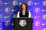 16 January 2015: Samantha Loftin (James Madison) was selected with 20th overall pick by the Boston Breakers. The National Women's Soccer League Draft was held at the Pennsylvania Convention Center in Philadelphia, Pennsylvania.