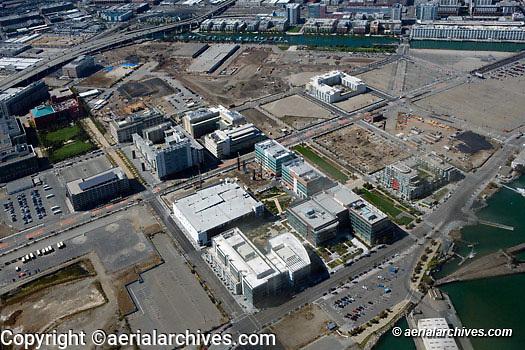 Aerial photograph Mission Bay San Francisco California