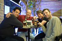 Luis, Adrian, Mike and I at the Rio de la Plata in Condesa, Mexico City.