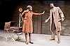 Filthy Business<br /> by Ryan Craig <br /> directed by Edward Hall <br /> at Hampstead Theatre, London, Great Britain <br /> Press Photocall <br /> 15th March 2017 <br /> <br /> Babirye Bukilwa as Rosa <br /> Tunji Lucas as Walter <br /> <br /> Photograph by Elliott Franks <br /> Image licensed to Elliott Franks Photography Services