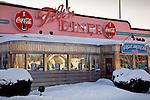 The Tilt'n Diner in Tilton, Lakes Region, NH, USA