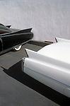 Cadillac Fins, Classic Car lot, Hollywood