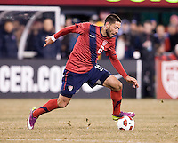 Clint Dempsey. The USMNT tied Argentina, 1-1, at the New Meadowlands Stadium in East Rutherford, NJ.