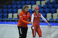 SCHAATSEN: IJSSTADION THIALF: 25-06-2013, Training zomerijs, Team Corendon, ©foto Martin de Jong