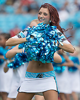 Charlotte, NC - September 18, 2016: The Carolina Panthers play the San Francisco 49ers at Bank of America Stadium.  Final score Carolina 46, San Francisco 27.